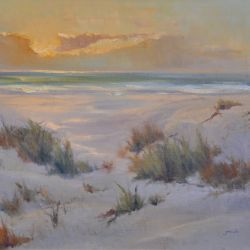 Ocean Dunes at Sunrise