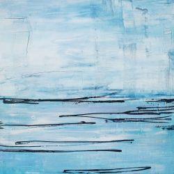 Ocean Scape in Blue