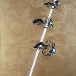 Cyclists with Shadows