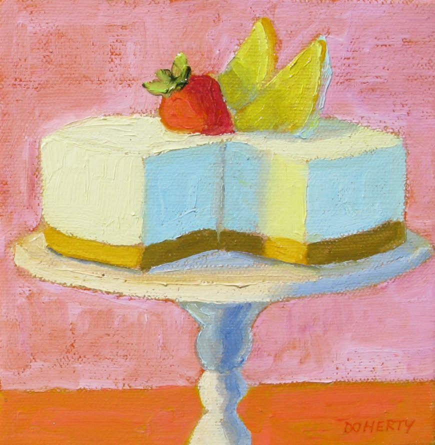 Cheesecake on Pedestal