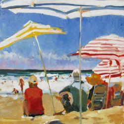 Striped Umbrellas