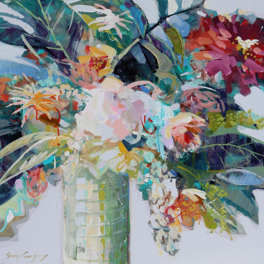 Bright is your light number 3 stellers gallery for Bright flower painting