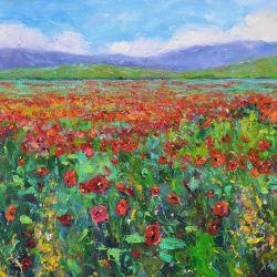 Brilliant Poppies