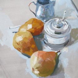 Pears and Pewter