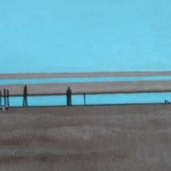 Sea Island Scene #4