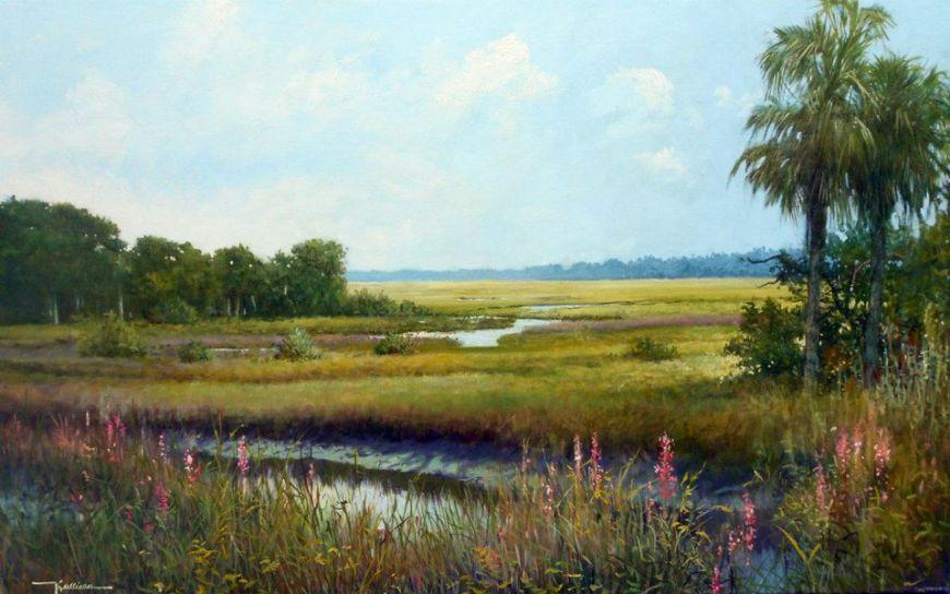 Marsh Grass Island