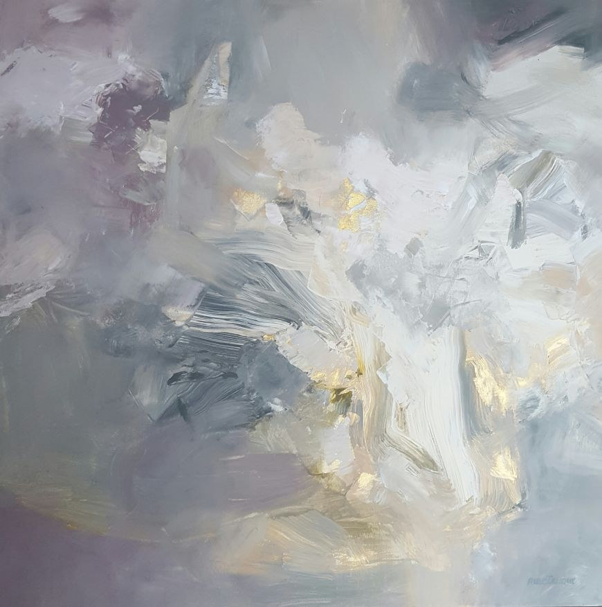 Abstract In Grays and Golds