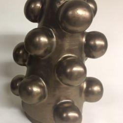 Bronze Sphere Sculpture