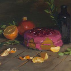 Olive Oil Tangerine Cake