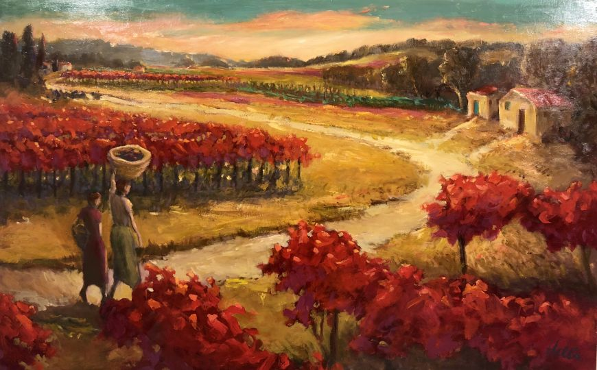 Landscape with Women