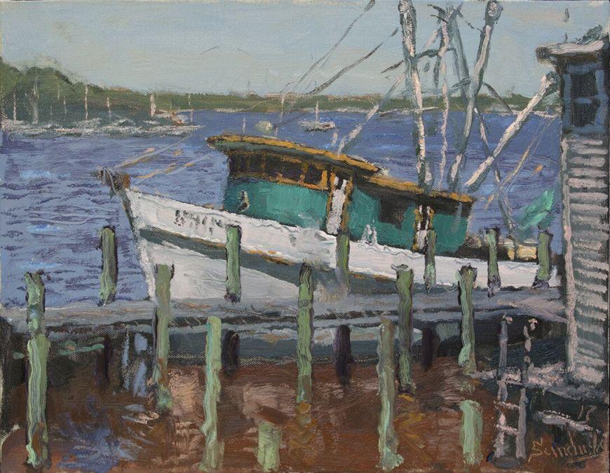 Shrimp Boat in Carrabelle