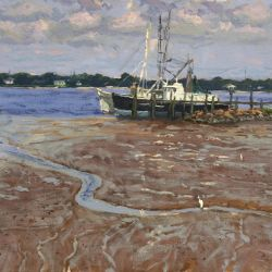 Low Tide at Mayport