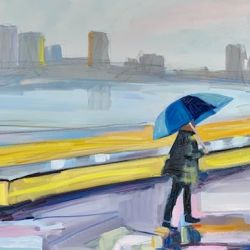 New Yorker in the Rain