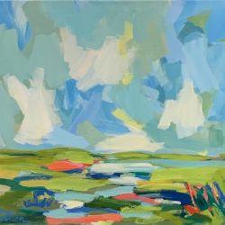 Marsh and Sky I