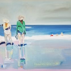 Beach Composition with Figures
