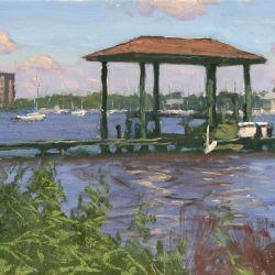 Dock on the Ortega River
