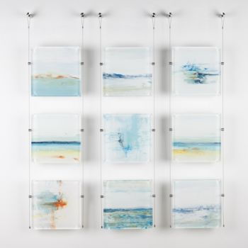 Introducing New Original Glass Works By John Schuyler!