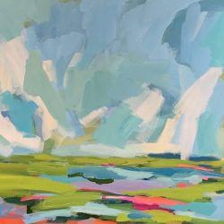 Marsh and Sky II
